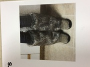 for sale - faux fur leg warmers - 8